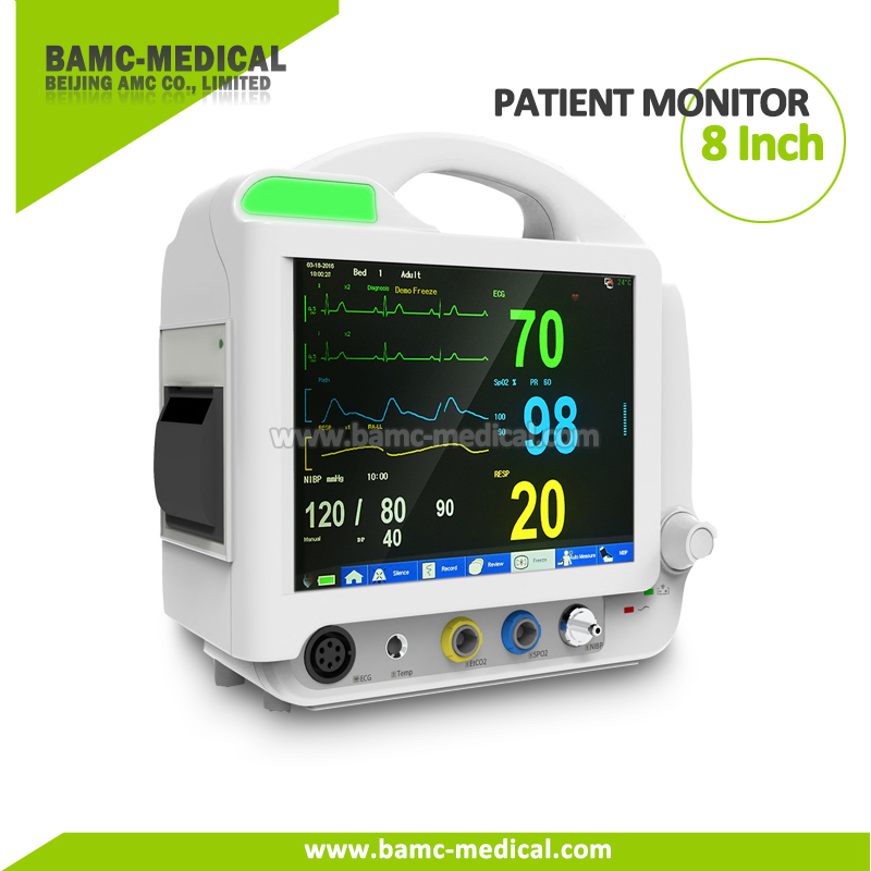 8 Inch Patient Monitor Multi-parameter