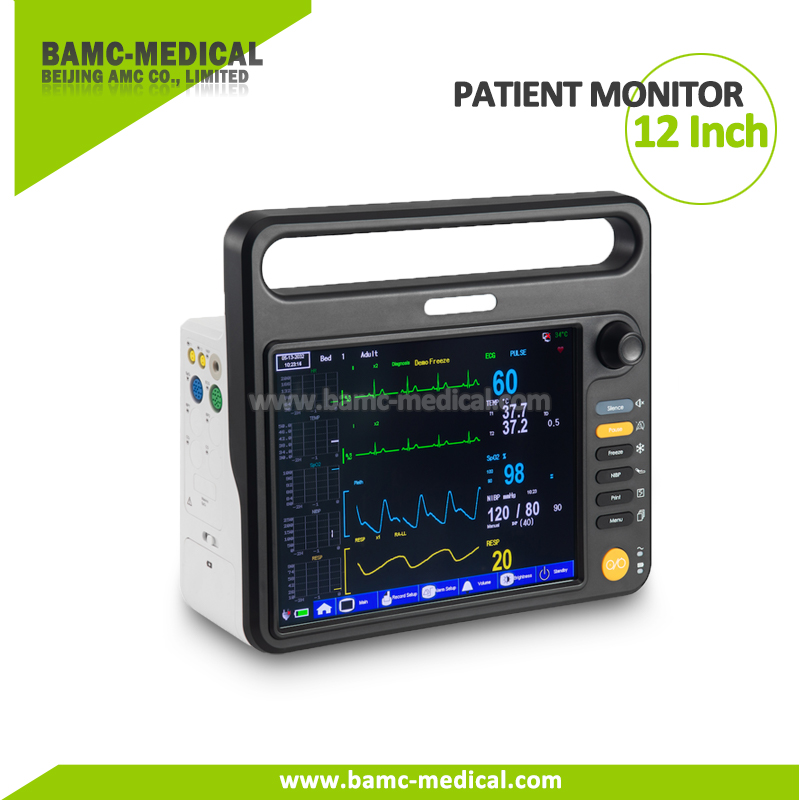 12 Inch Patient Monitor Multi Parameter