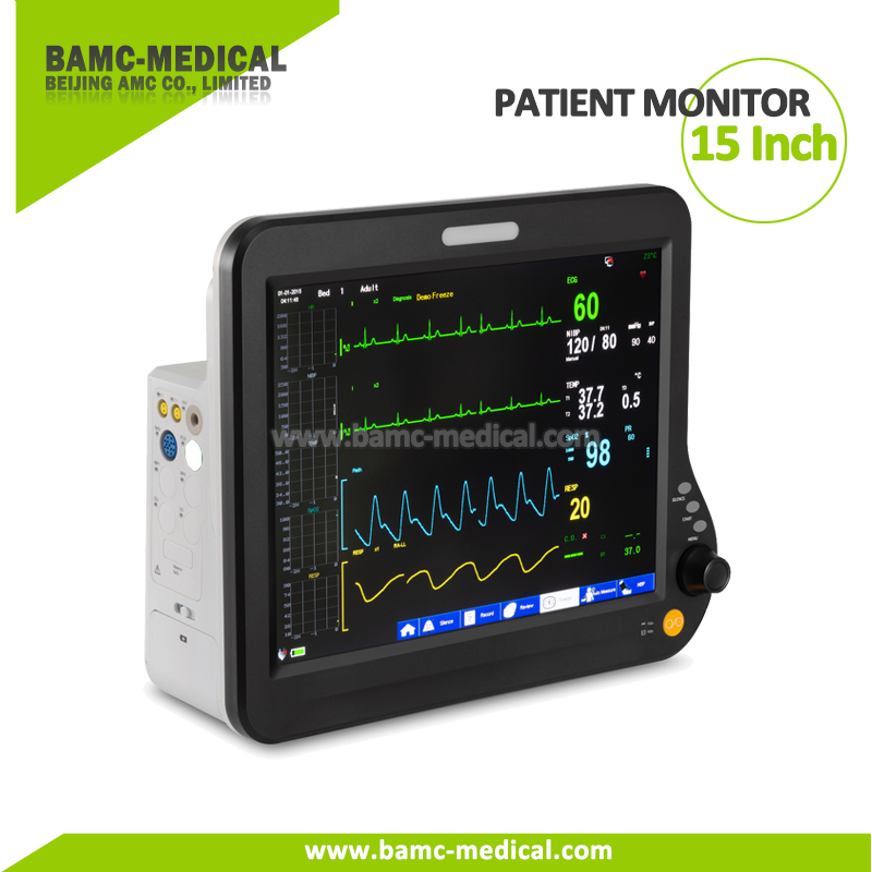 15 Inch Patient Monitor Multi Parameter