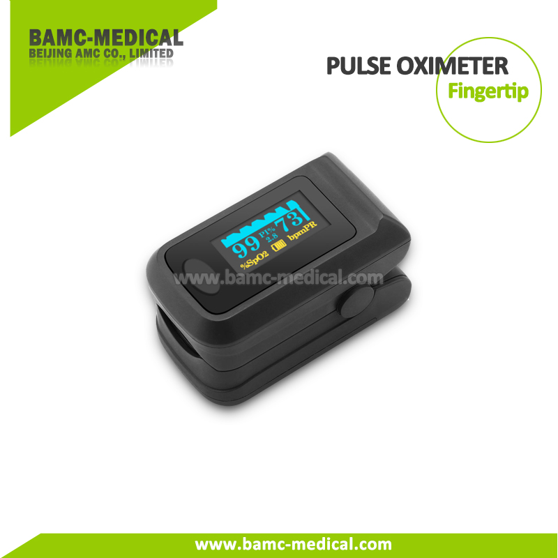 Finger Pulse Oximeter Portable SpO2 Monitoring