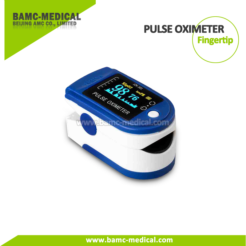 Finger Pulse Oximeter Portable SpO2 Monitoring Homecare
