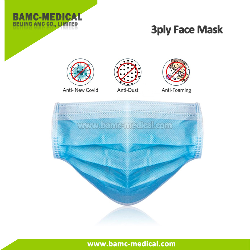 Surgical 3ply Mask Medical Grade Non-woven Disposable Protection Mask